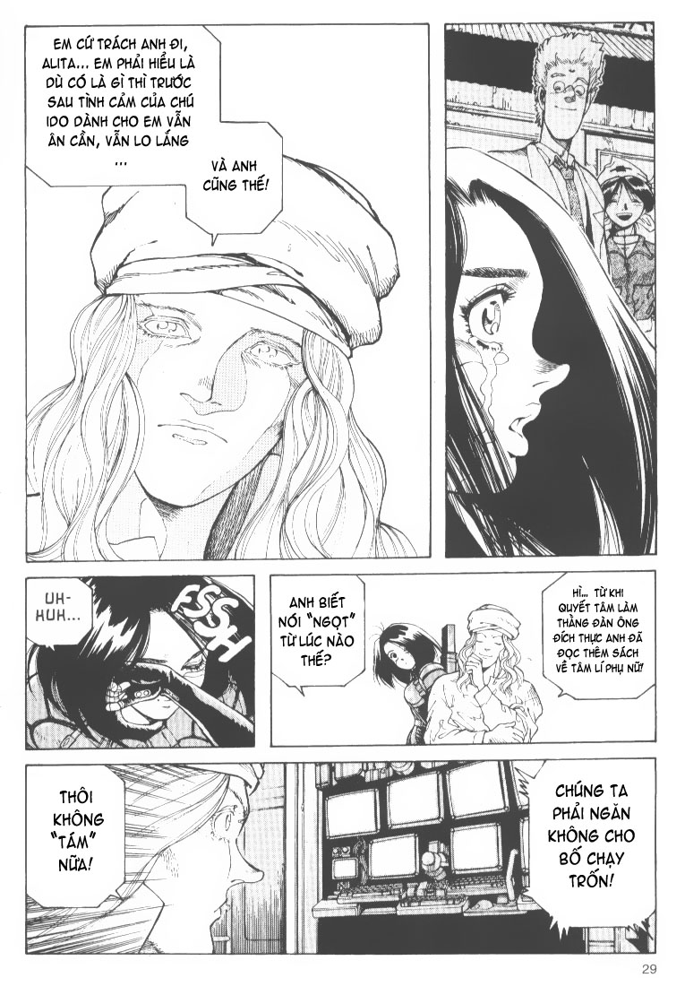 Battle Angel Alita chapter 48 trang 28