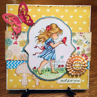 Whimsy Stamps Liberty's Friend