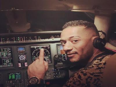 بعد قيادة الطائرة, محمد رمضان, خالد ابو بكر, الامن القومى المصرى,
