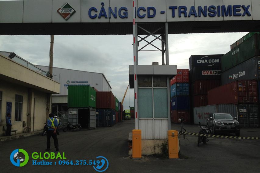 Chuyên lắp đặt Barie tại cảng Transimex