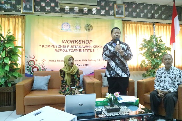WORKSHOP KOMPETENSI PUSTAKAWAN KEKINIAN DAN INSTITUTIONAL REPOSITORY