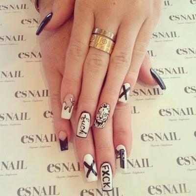 Diseño de uñas para chicas jóvenes y atrevidas