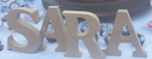 Personalizando letras de MDF com washitape