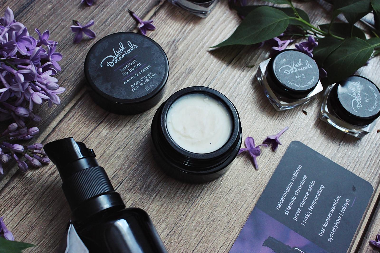 Lush Botanicals, polskie 100% naturalne kosmetyki z lodówki
