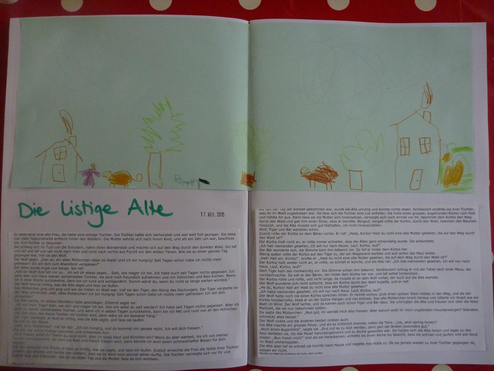 Kiga herbstgeschichte Elkes Kindergeschichten