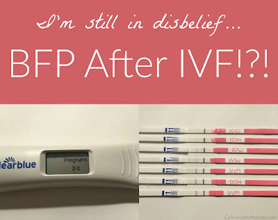 Conceivable Notions: Our TTC Journey: Testing Out My HCG ...