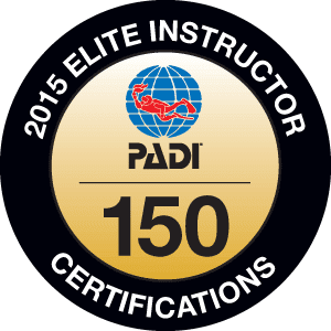PADI Elite Instructor for 2015