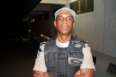 Capitão Guipson - Coordenador do COPOM