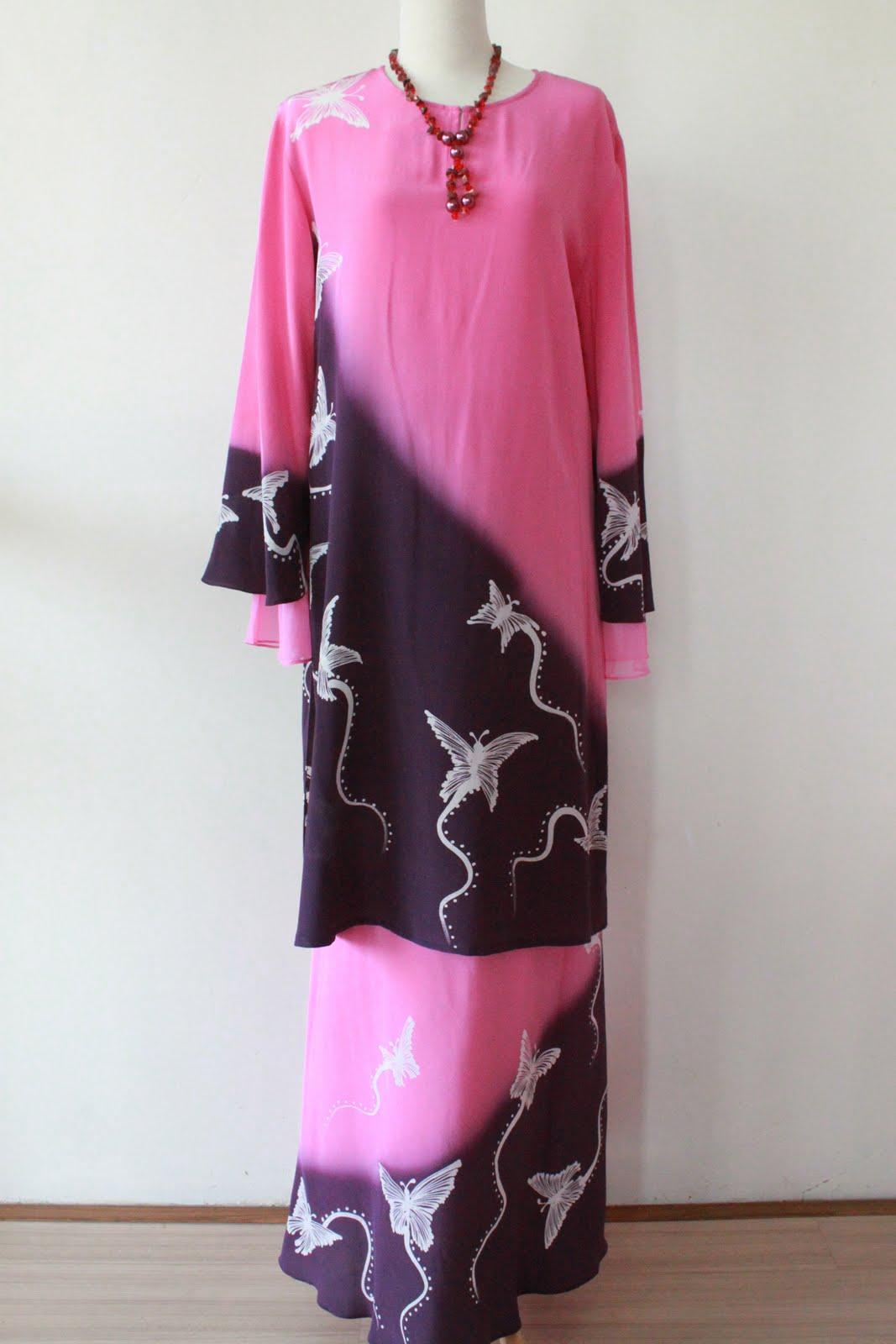 Model dan contoh baju gamis wanita khas melayu gaya masa Baju gamis terbaru dan harganya 2015