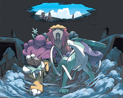 Legendary Beast Pokemon