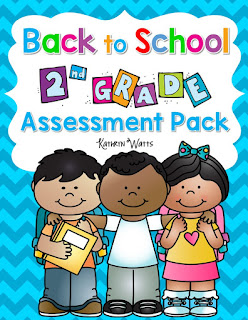 Second Grade Back to School Assessments