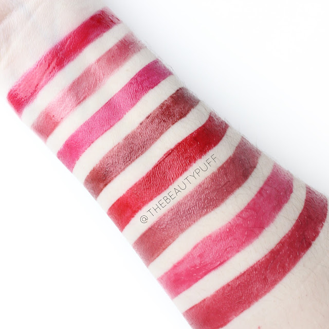 merle norman lip swatches | the beauty puff