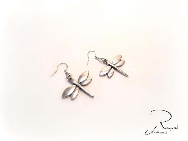 pendientes libélula