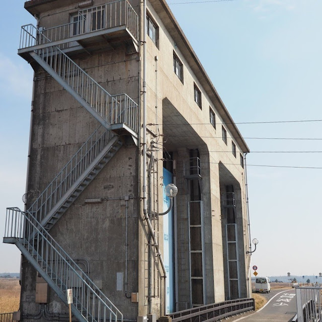 利根川 印旛水門