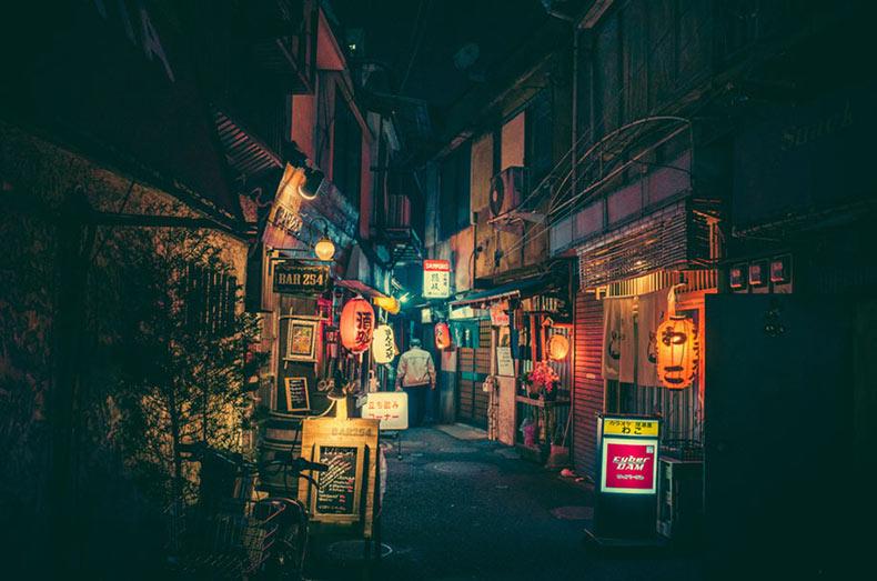La magia de las calles de Tokio en la noche en imagenes por Masashi Wakui