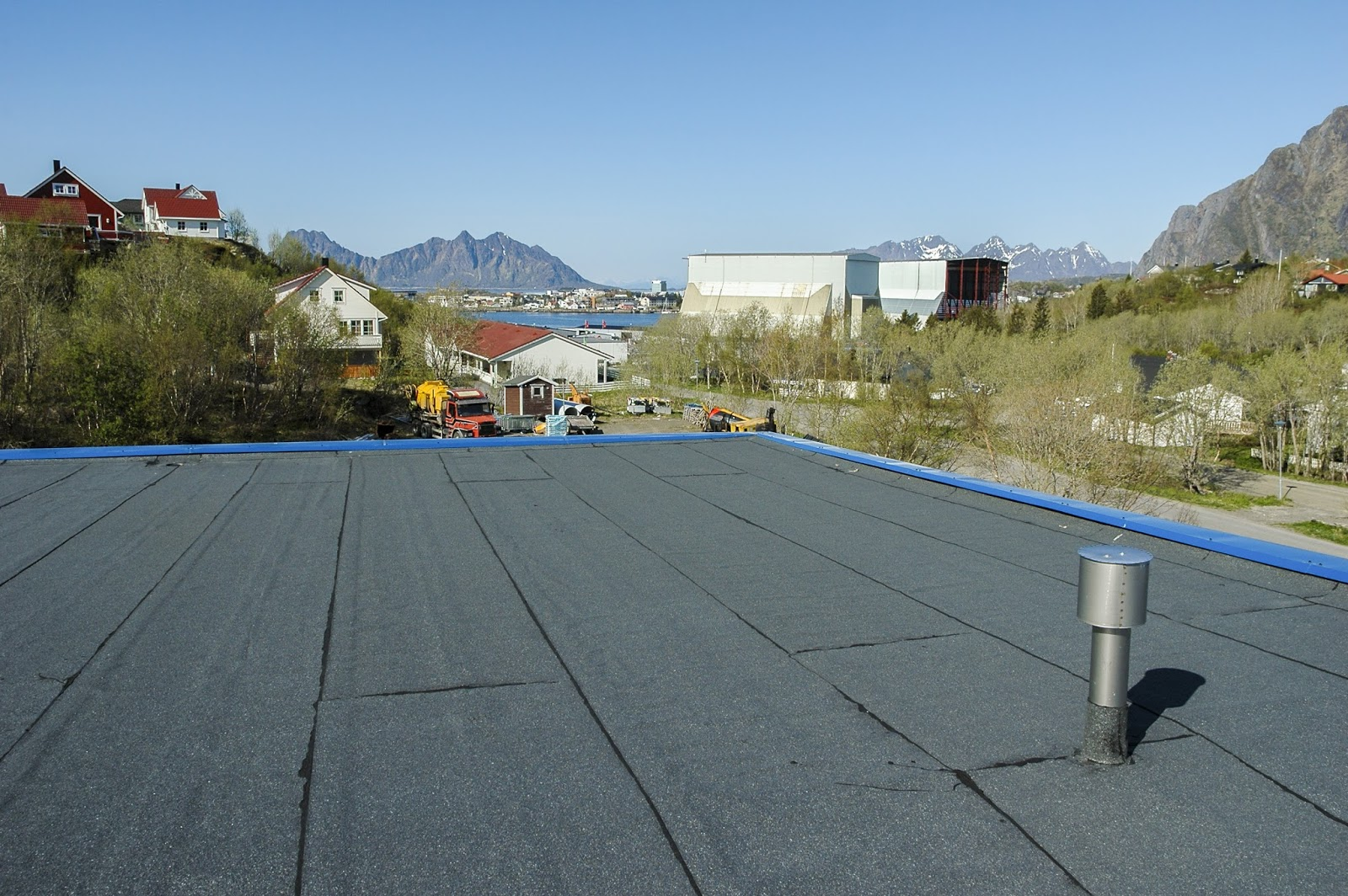 pvc roofing advantages benefits flat roofs