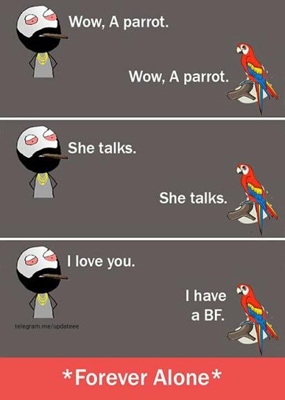 Forever Alone funny meme