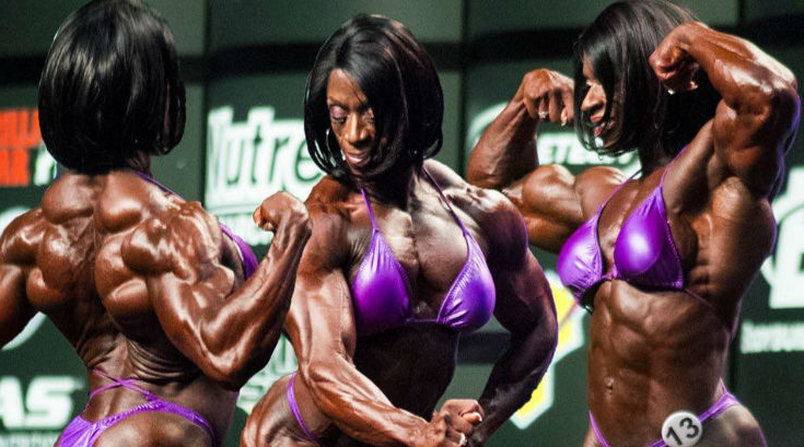 Iris Floyd Kyle Biography female bodybuilder