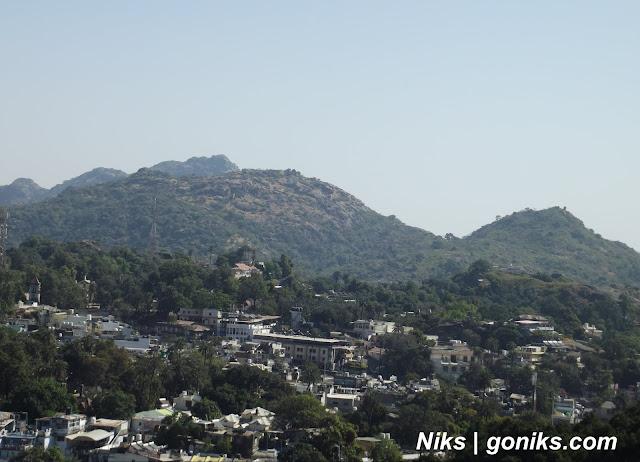 mount abu city view