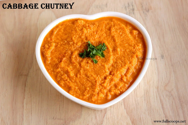 Cabbage Chutney