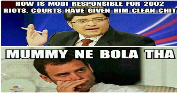 arnab goswami jokes