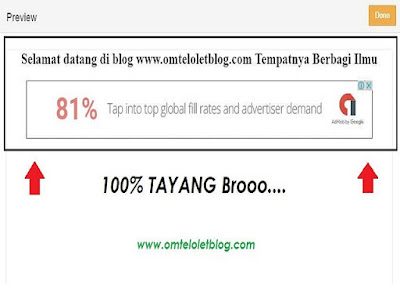 Cara Memasang Iklan Google Adsense di Fanspage Facebook