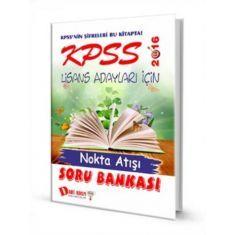Dahi Adam KPSS Lisans Adayları İçin Nokta Atışı Soru Bankası (2016)