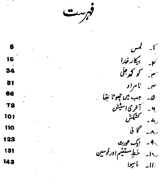 Kokh Jali Free Urdu Afsanay PDF Book