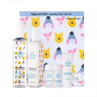 Etude House - Happy with Piglet SoonJung Skin Care Set