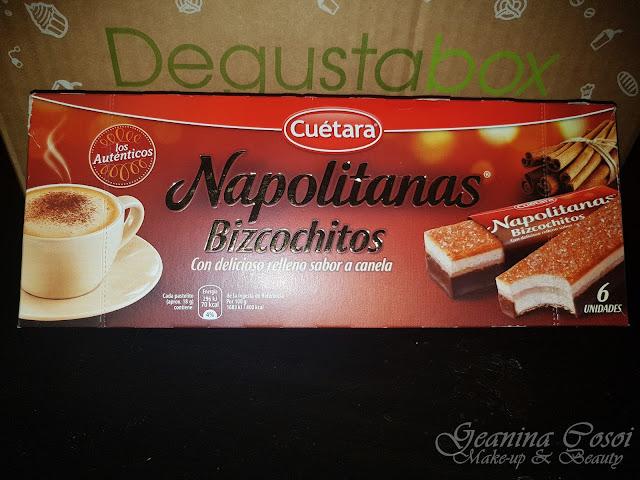 Cuetara napolitanas sabor a canela Caja Mensual Degustabox - Enero 2017