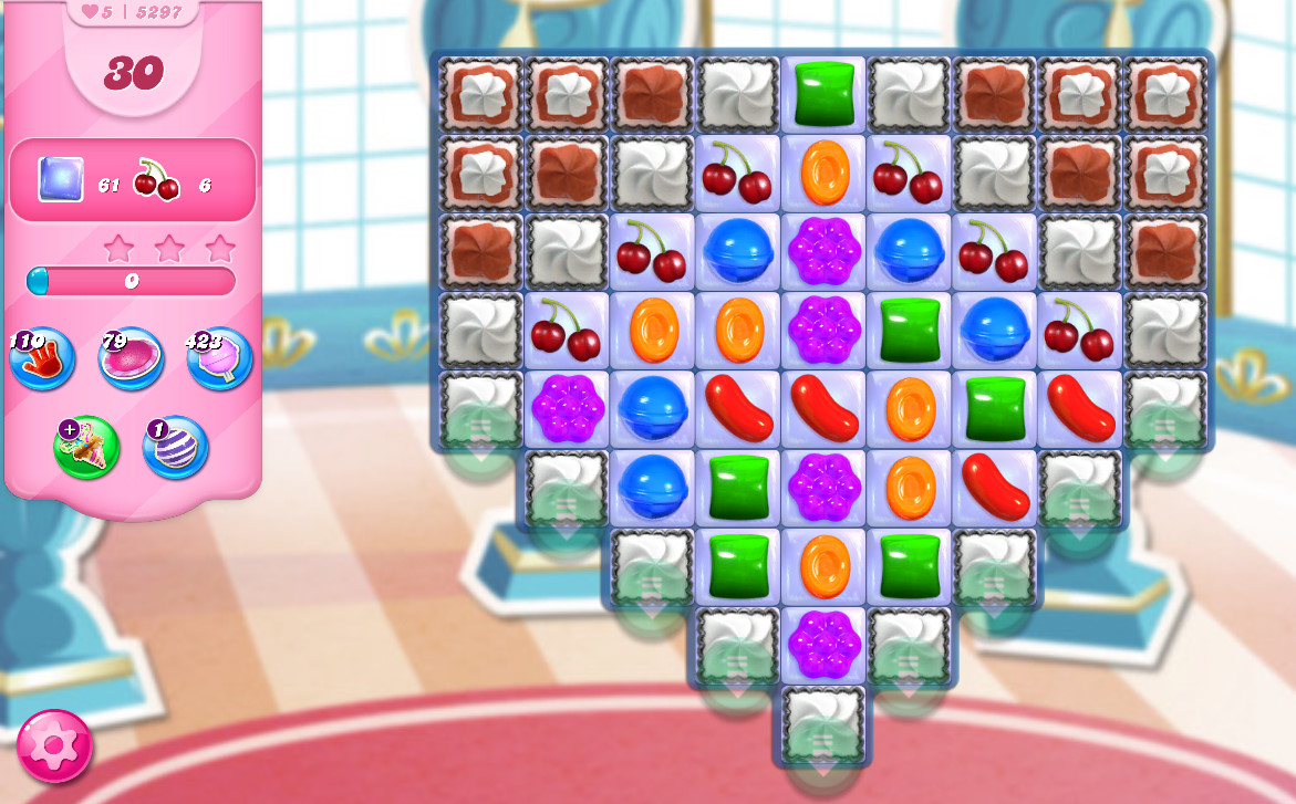 Candy Crush Saga level 5297