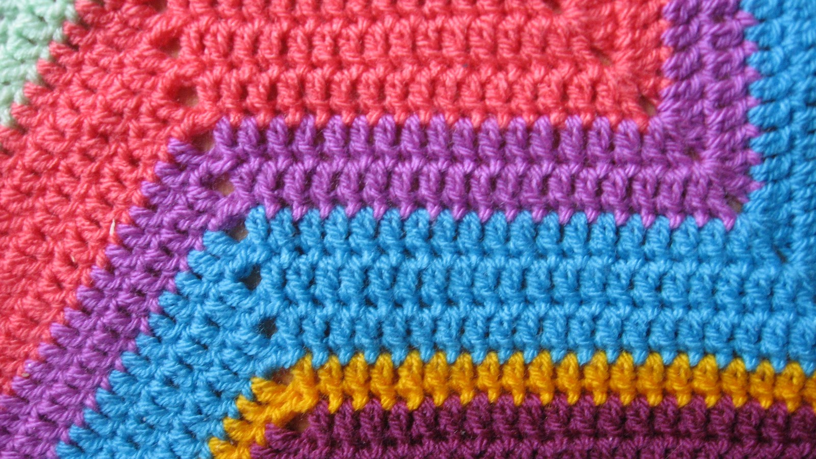 Crochet Projects Scrappy Round Ripple