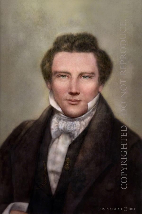 A true photographic image of Joseph Smith Jr. Joseph Smith
