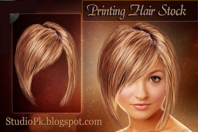 Psd Girl Hair Stock Download