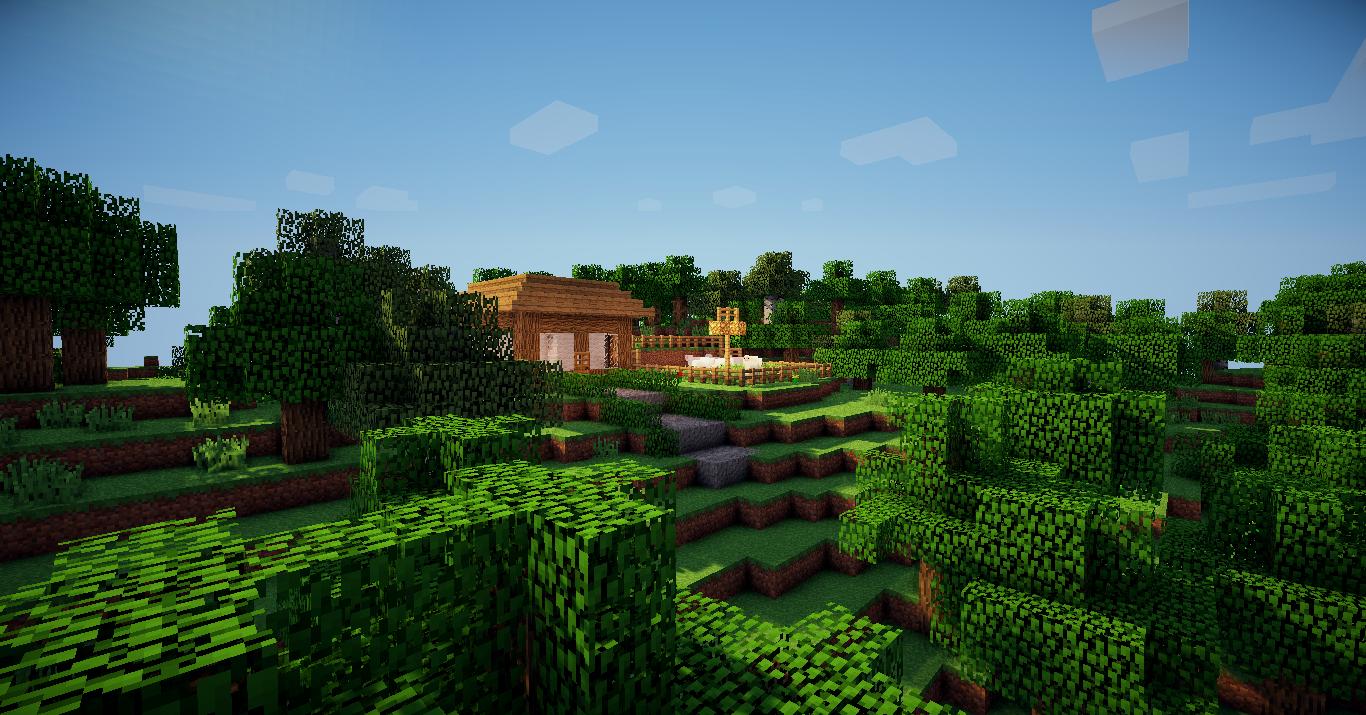 Some Minecraft Scenery Designcraft