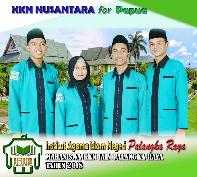 Mahasiswa MPI FTIK IAIN Palangka Raya Mengikuti KKN Nusantara di Papua
