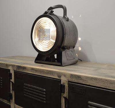 Lampe fanal de locomotive