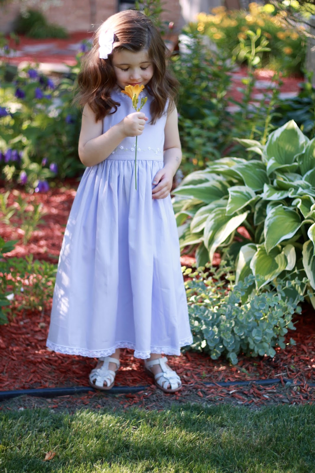 Strasburg Childrens review, Caroline Lace Dress