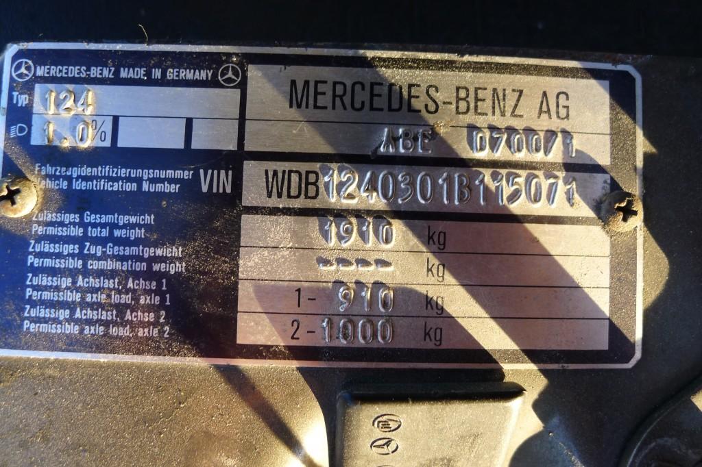 Mercedes B Class >> BENZTUNING: Mercedes-Benz W124 300CE Hammer