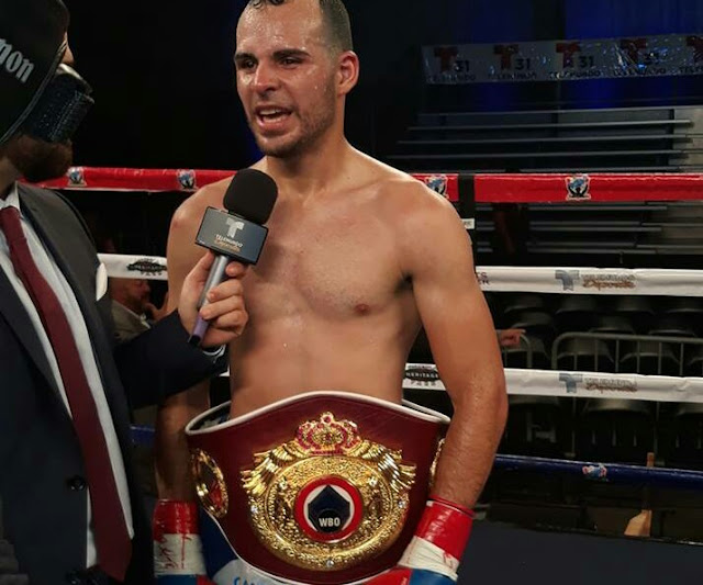 Yomar Alamo boxing