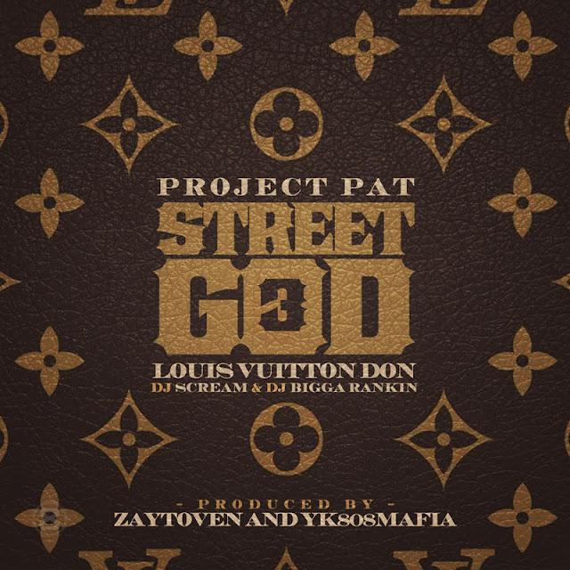"""A mais nova mixtape do Project Pat """"Street God 3"""" esta disponivel para download"""