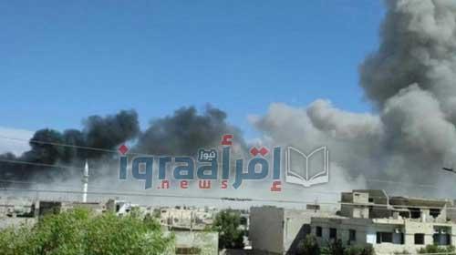 اخبار سوريا اليوم 15/5/2016.. غارات على ريفي حمص و حماة