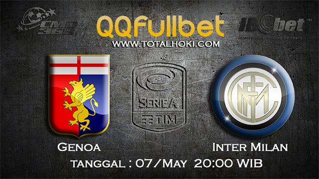 PREDIKSIBOLA - PREDIKSI TARUHAN GENOA VS INTER MILAN 7 MAY 2017 (SERIE A ITALIA)