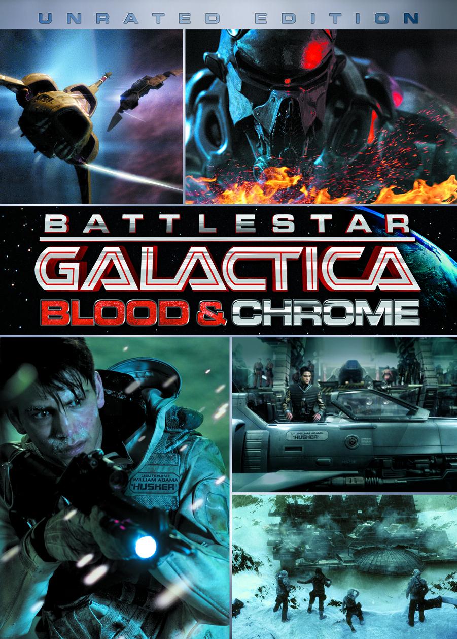 Battlestar Galactica Blood And Chrome Deutsch Stream