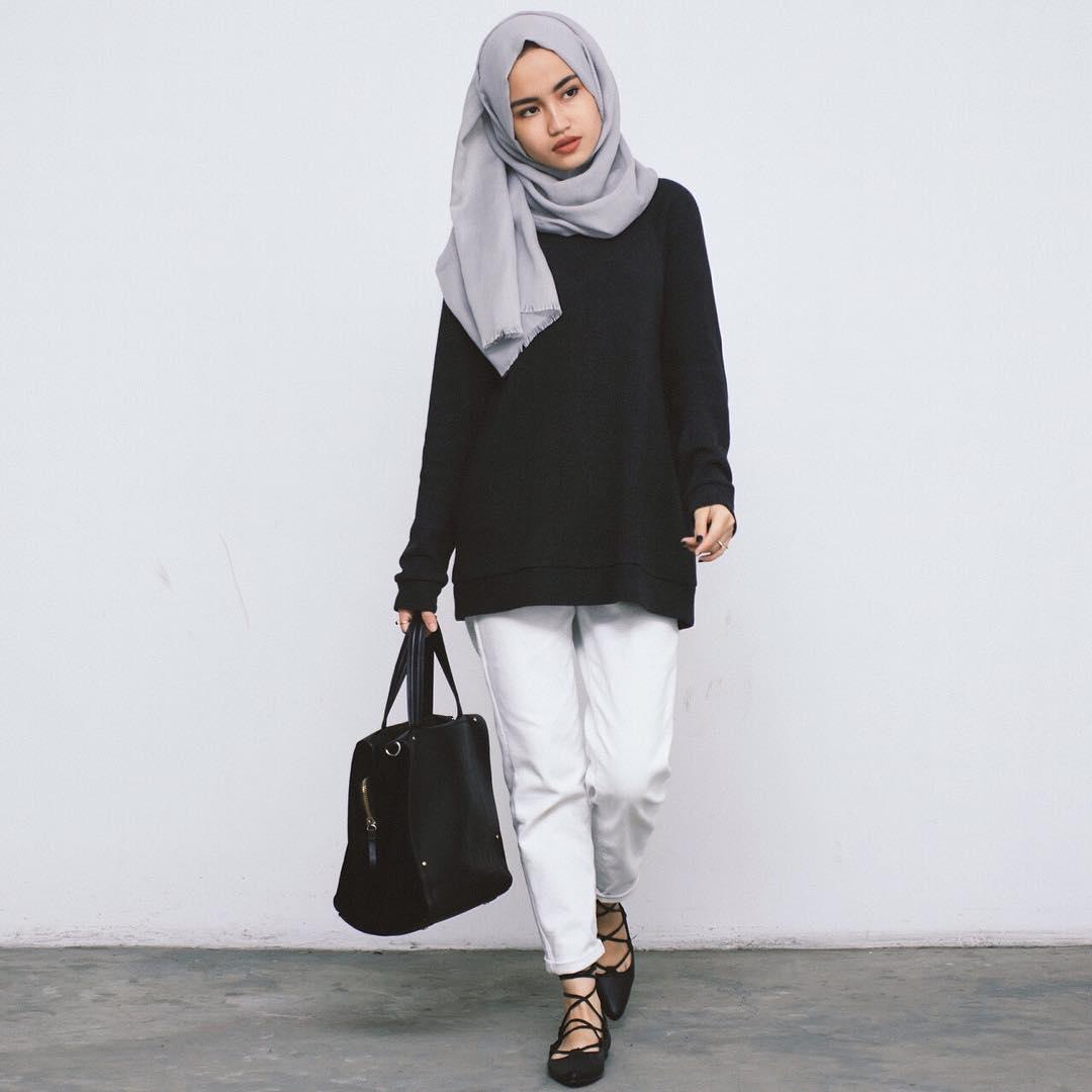 Model Busana Hijab Casual 2017 Siap Merubah Penampilan Anda