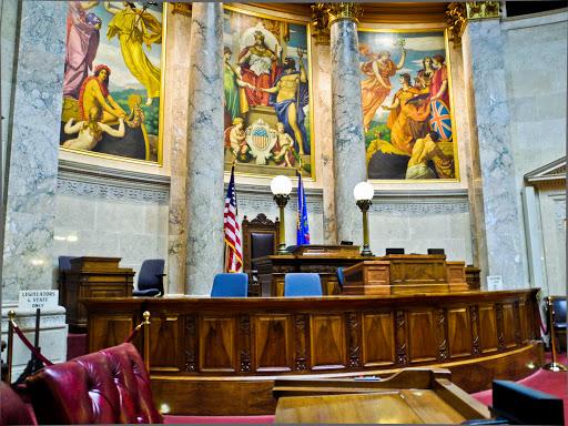 Wisconsin State Senate Chambers