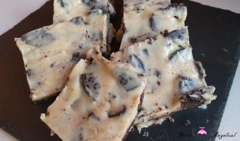 Receta chocolate blanco, Oreo y condensada