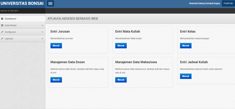 Free Download Aplikasi Absendi Sederhana Dengan PHP MYSQL - Lapakcode