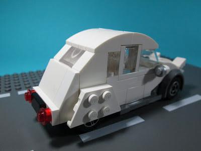 Citroen 2CV em LEGO