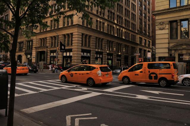 manhattan taksówki nowy jork